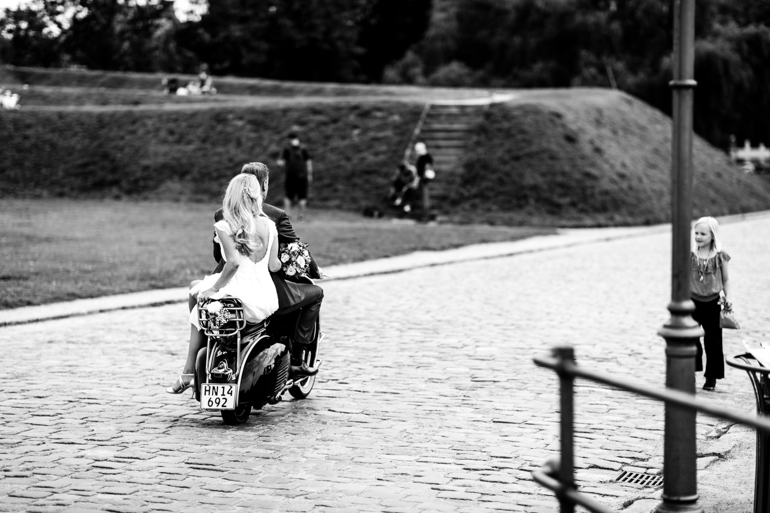 Bride-on-Bike