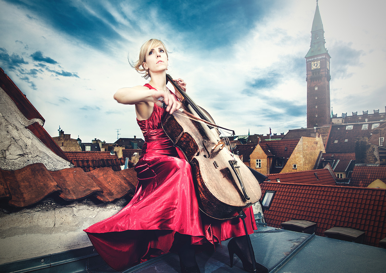Spears of Kings | cello player portrait female