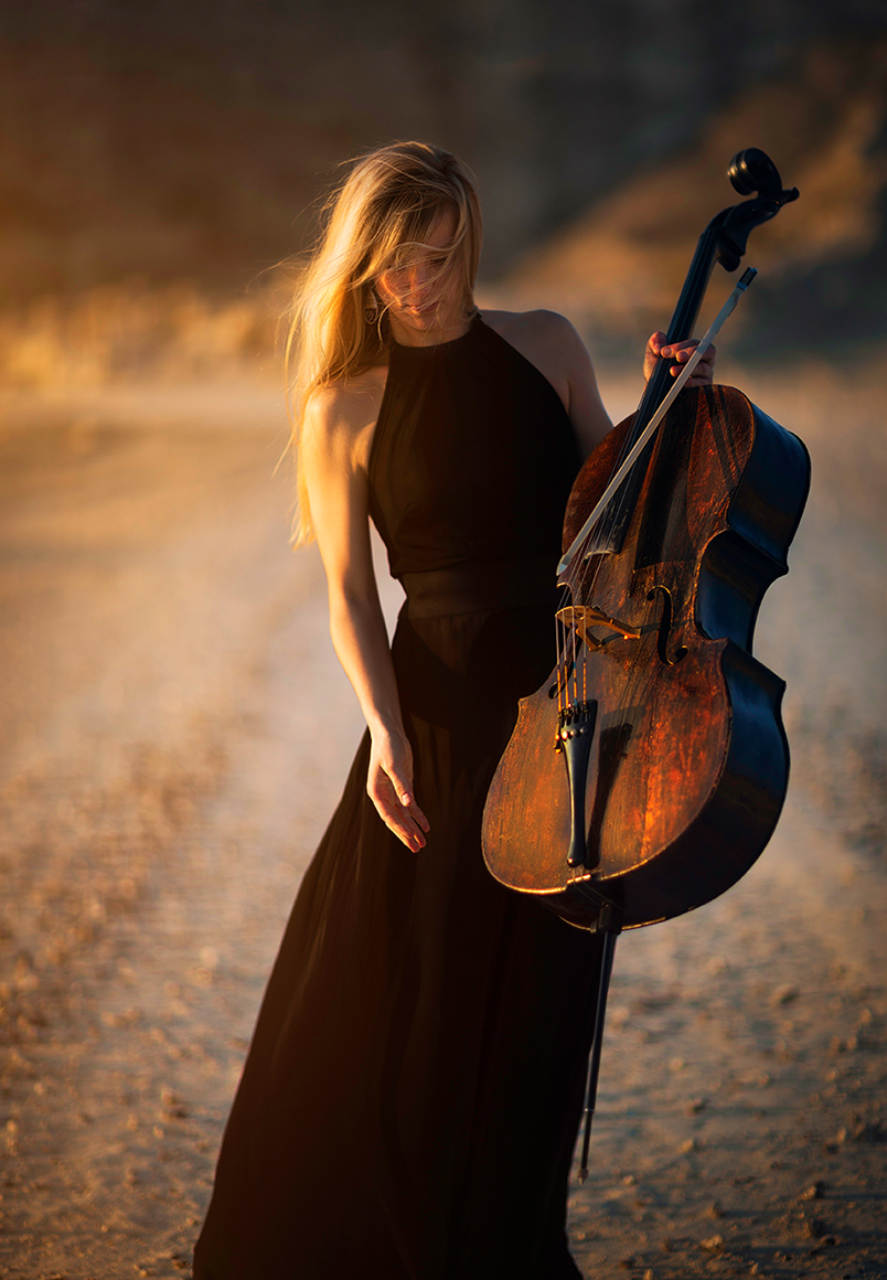 """Girl with Cello"" 