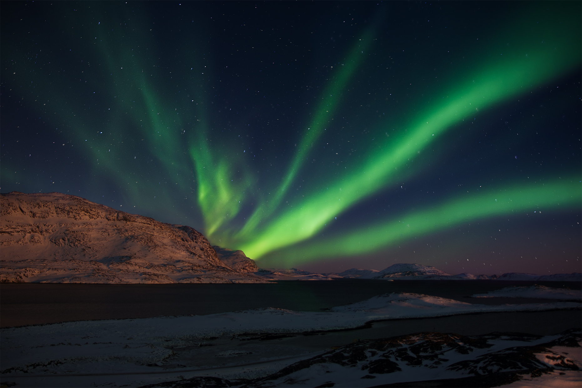 Northern lights in greenland | aurora borealis