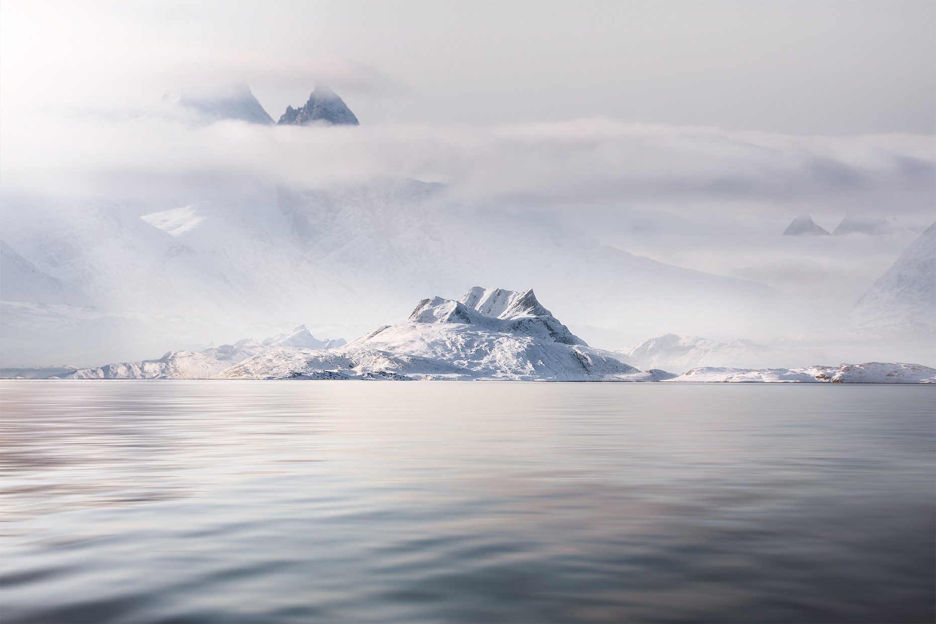 Winter is Coming | Greenland seascape photography